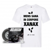Lord Madness & Gian Flores - Xanax + Delorean - Box T-Shirt + CD - Pre order
